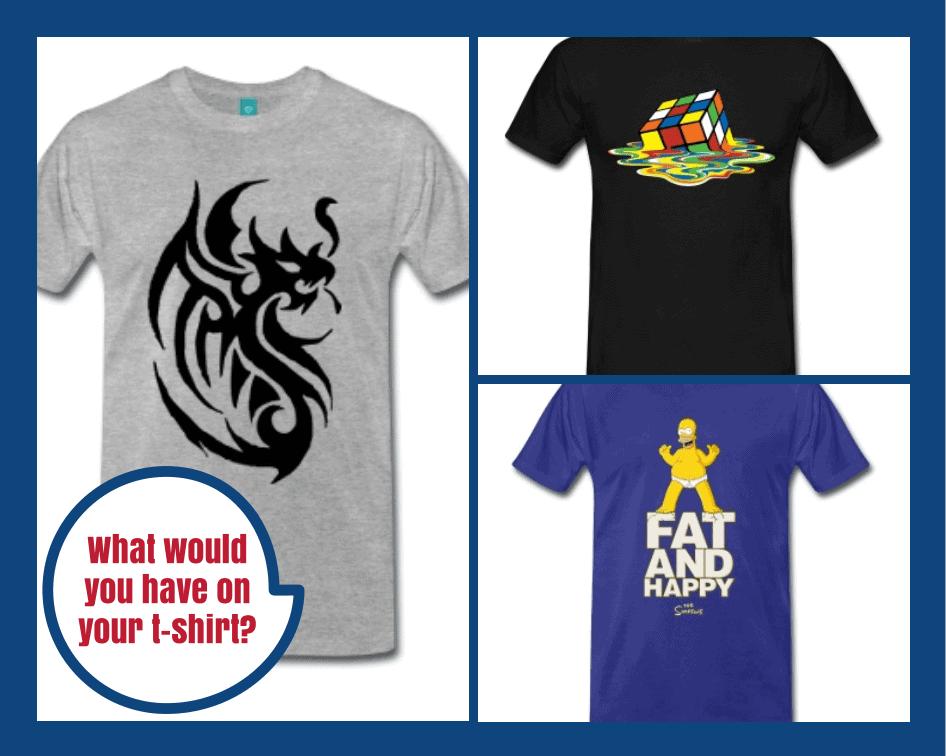 Spreadshirt Mens T-Shirt Selection