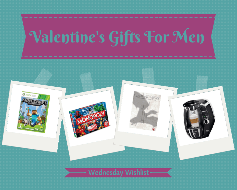 Wednesday Wishlist - Valentines Gifts For Men